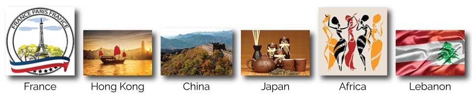 banner of International Associates' countries