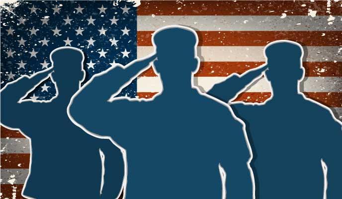 Soldiers-saluting-American-flag